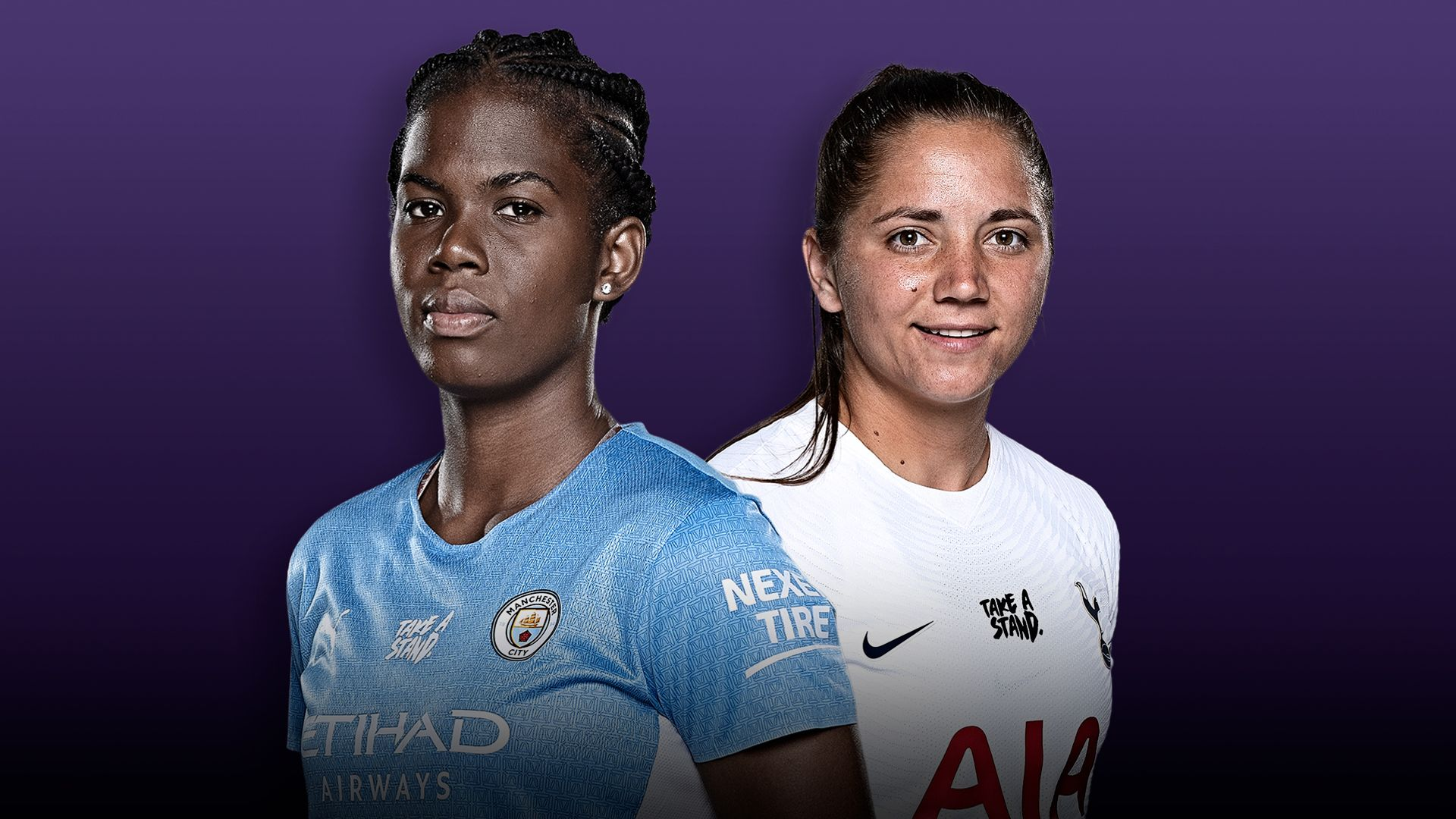 Man City Women vs Tottenham Women: Women's Super League preview, team news, TV channel, stats, kick-off time