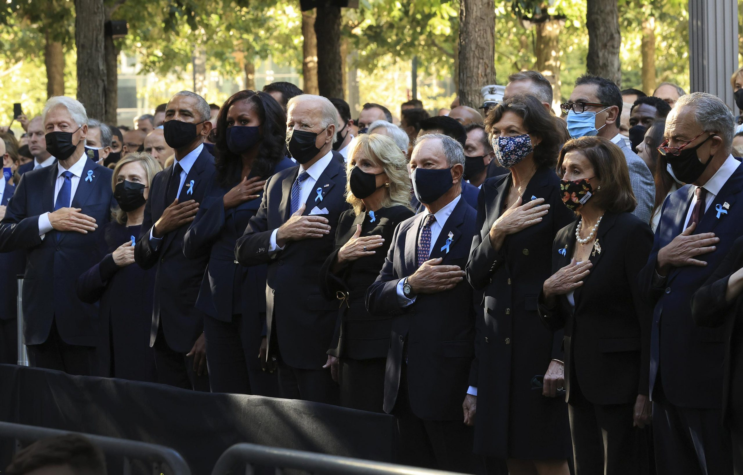 Unity a theme as 3 presidents commemorate 9/11 in New York