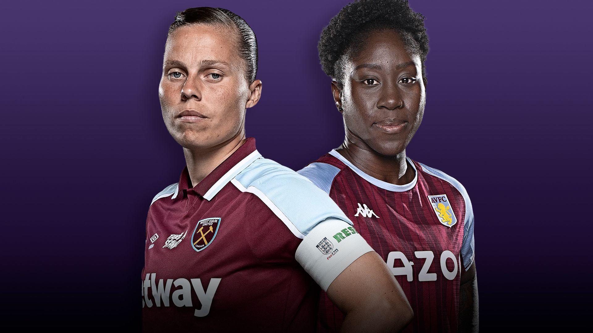 West Ham Women vs Aston Villa Women: Women's Super League preview, team news, TV channel, stats, kick-off time